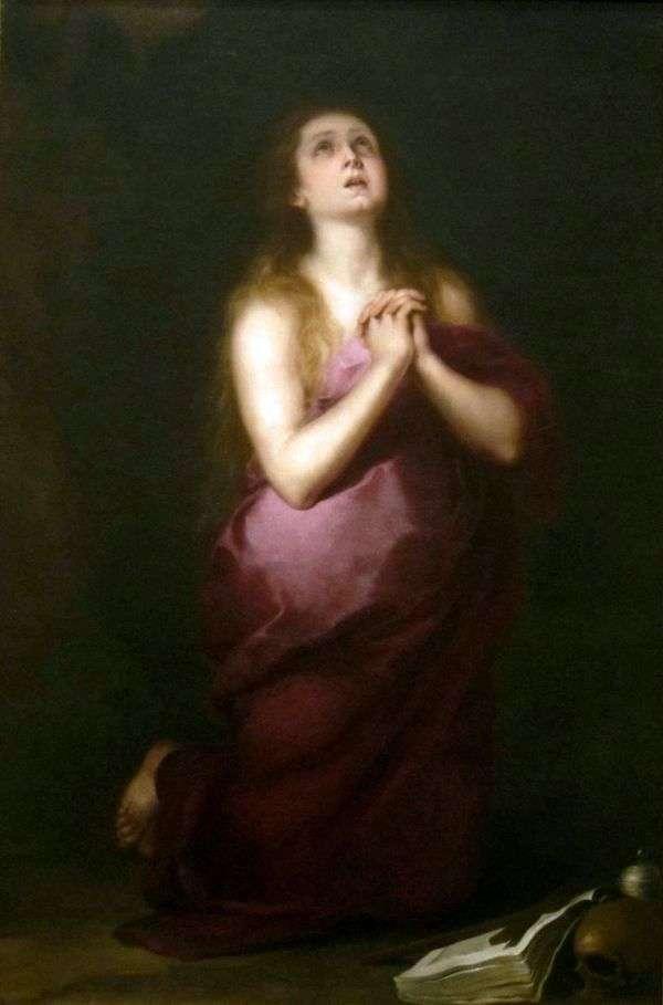 Мария Магдалина   Бартоломе Эстебан Мурильо