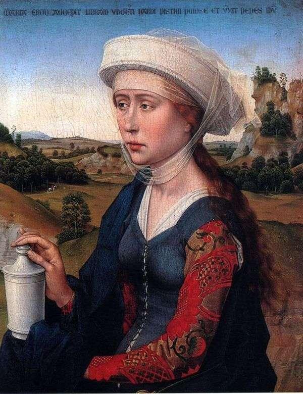 Мария Магдалина. Часть Триптиха семьи Брак   Рогир ван дер Вейден