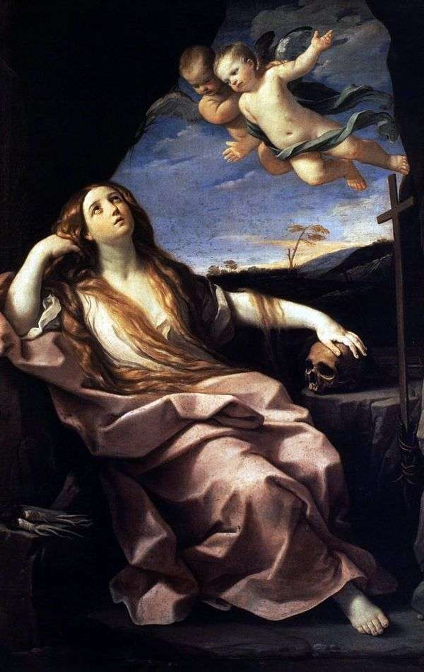 Мария Магдалина и ангелы   Гвидо Рени