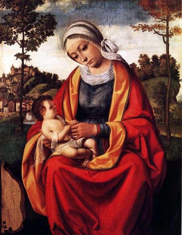 Мария с младенцем   Андреа Превитали