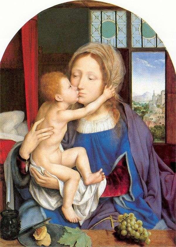 Мария с младенцем   Квентин Массейс