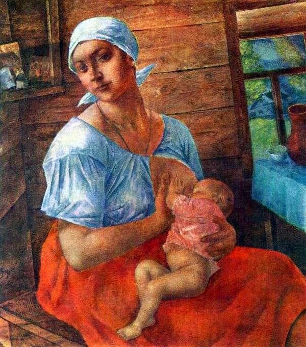 Мать   Кузьма Петров Водкин