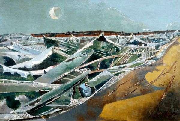 Мертвое море   Пол Нэш