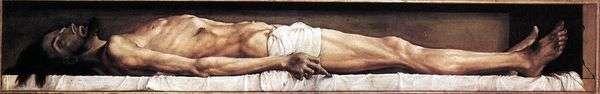 Мертвый Христос   Ганс Гольбейн