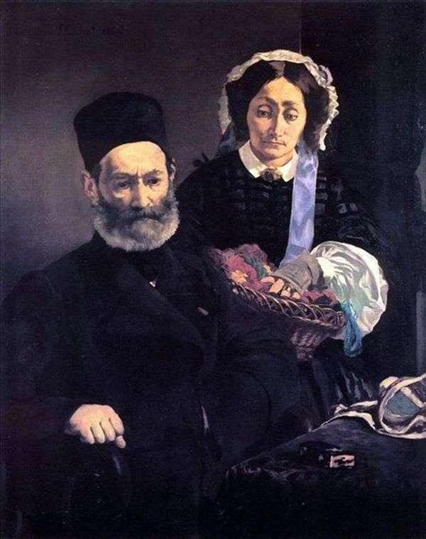 Месье и мадам Мане   Эдуард Мане