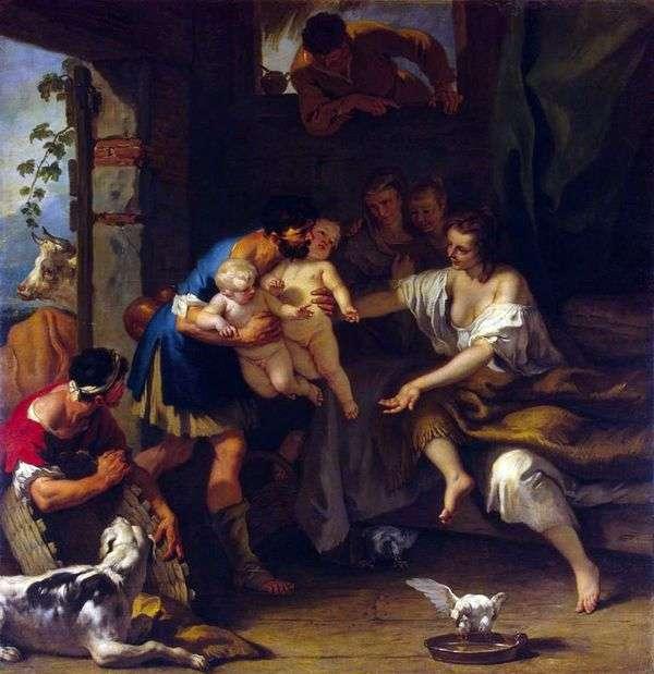Младенчество Ромула и Рема   Себастьяно Риччи