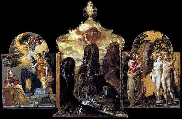 Моденский триптих   Эль Греко