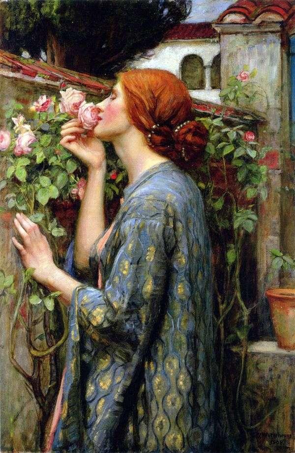 Моя любимая роза   Джон Уотерхаус