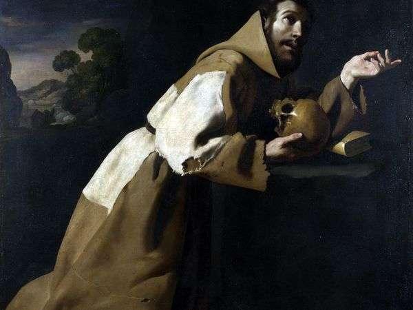 Молитва Святого Франциска   Франсиско де Сурбаран