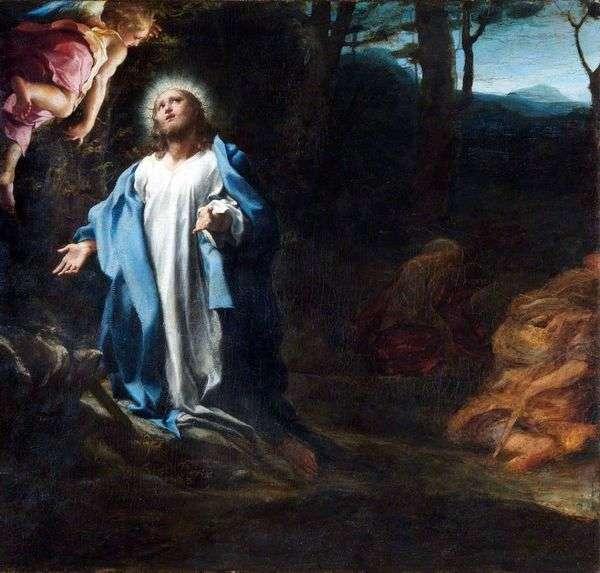 Молитва в Гефсиманском саду   Корреджо (Антонио Аллегри)