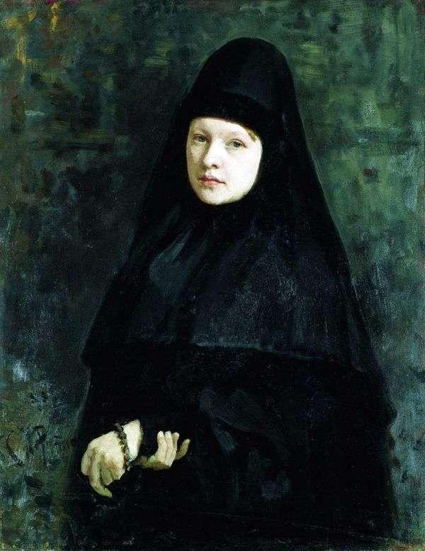 Монахиня   Илья Репин