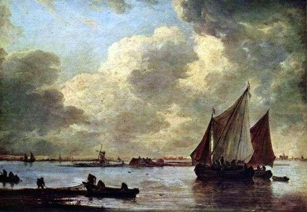 Море у Харлема   Ян ван Гойен