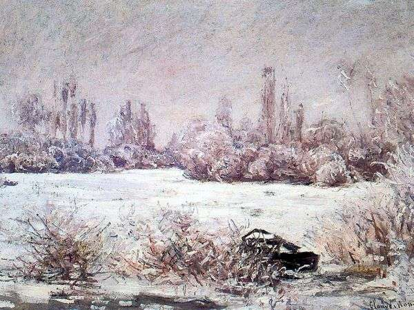 Мороз   Клод Моне