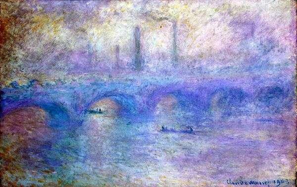 Мост Ватерлоо   Клод Моне