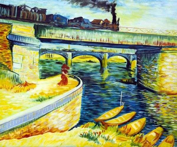 Мосты через Сену   Винсент Ван Гог