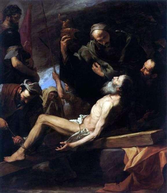 Мученичество апостола Андрея   Хусепе де Рибера