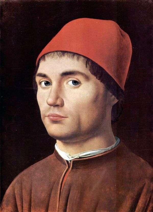 Мужской портрет   Антонелло да Мессина