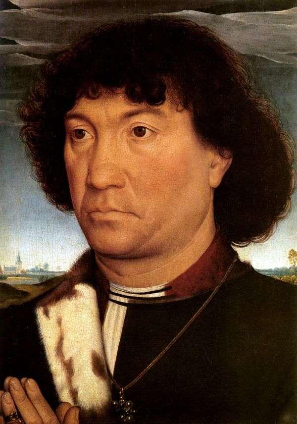 Мужской портрет   Ханс Мемлинг