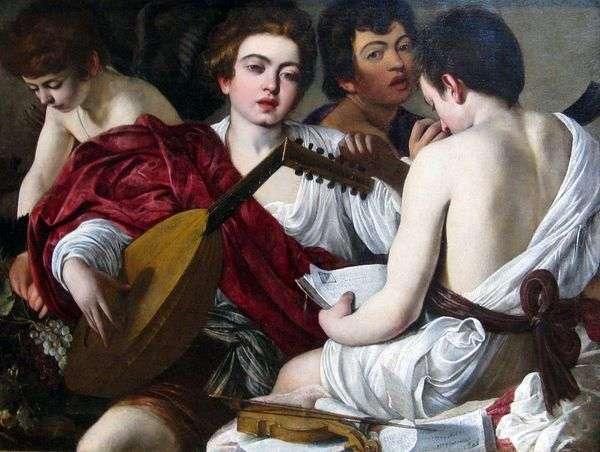 Музыканты   Микеланджело Меризи да Караваджо