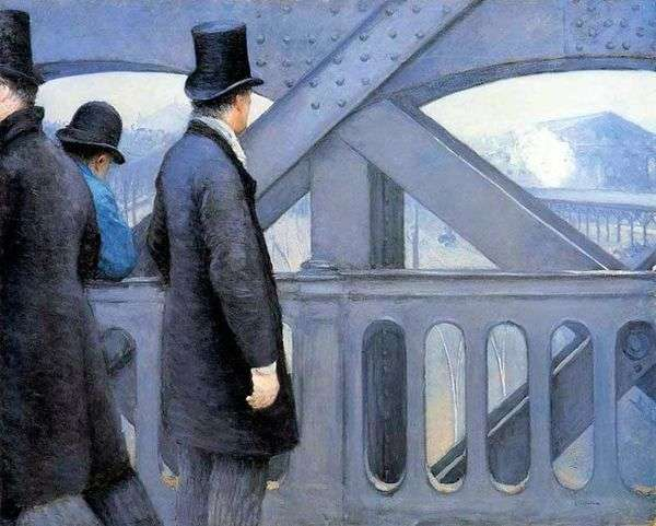 На мосту Европы   Гюстав Кайботт