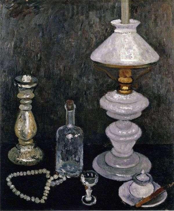 Натюрморт с белой лампой   Паула Модерзон Беккер