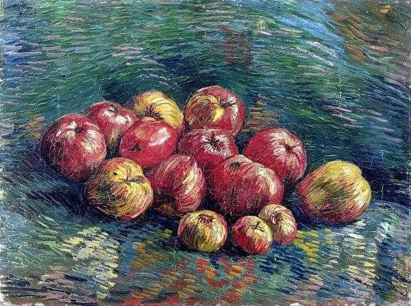 Натюрморт с яблоками   Винсент Ван Гог
