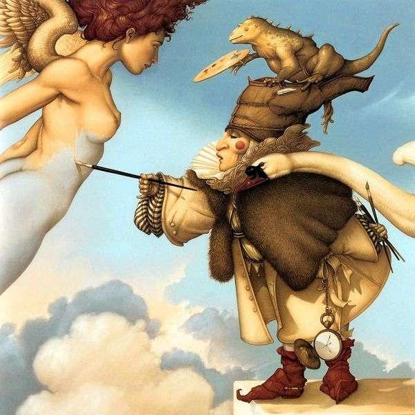 Небесный живописец   Майкл Паркес
