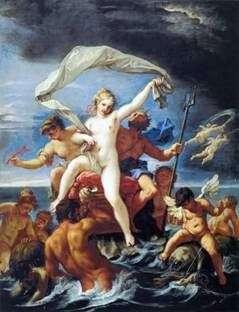 Нептун и Амфитрита   Себастьяно Риччи