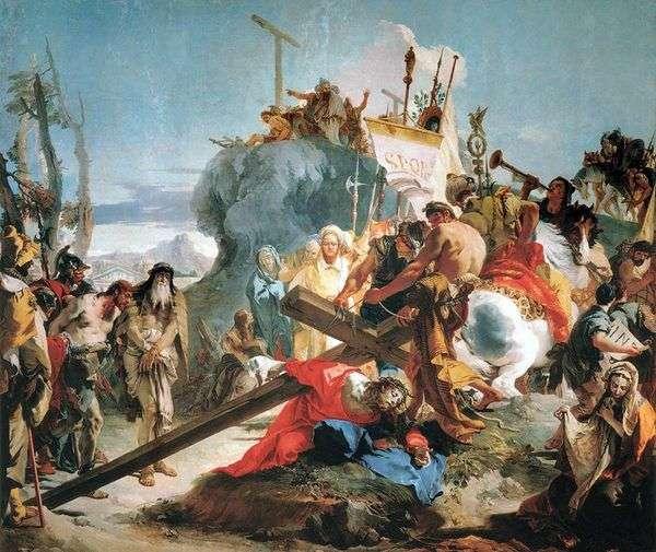 Несение креста   Джованни Баттиста Тьеполо