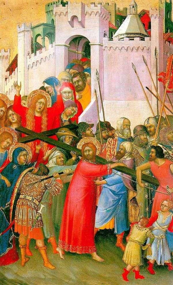 Несение креста   Симоне Мартини
