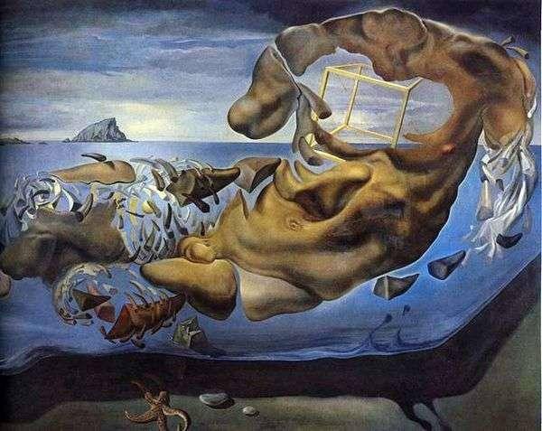 Носорогообразная фигура Илисса Фидия   Сальвадор Дали