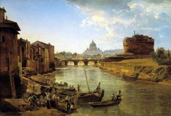 Новый Рим. Замок Святого Ангела   Сильвестр Щедрин