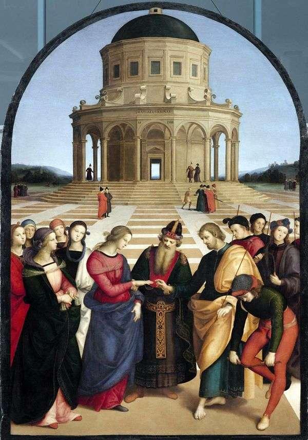 Обручение Девы Марии   Рафаэль Санти