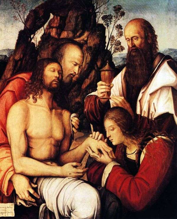 Оплакивание Христа   Джироламо Маркези да Котиньола