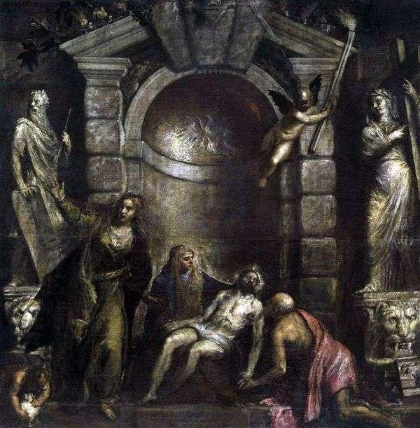 Оплакивание Христа (Пьета)   Тициан Вечеллио