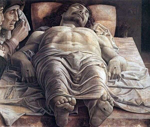 Оплакивание мертвого Христа   Андреа Мантеньи