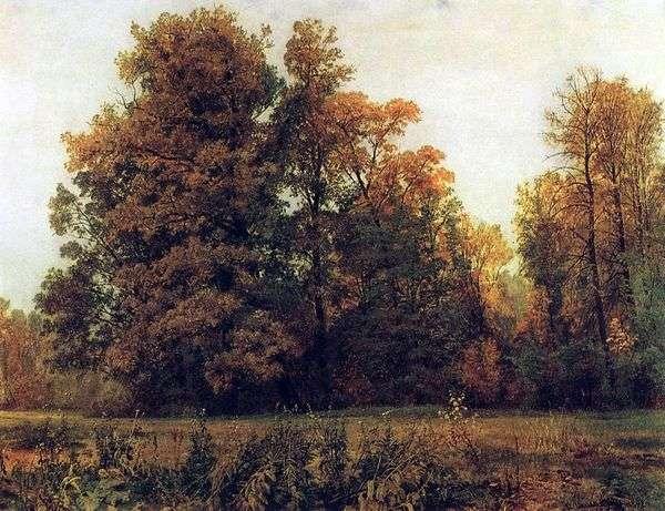 Осень   Иван Шишкин