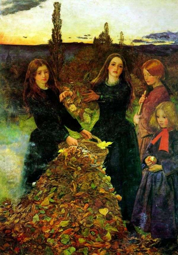 Осенние листья   Джон Эверетт Миллес