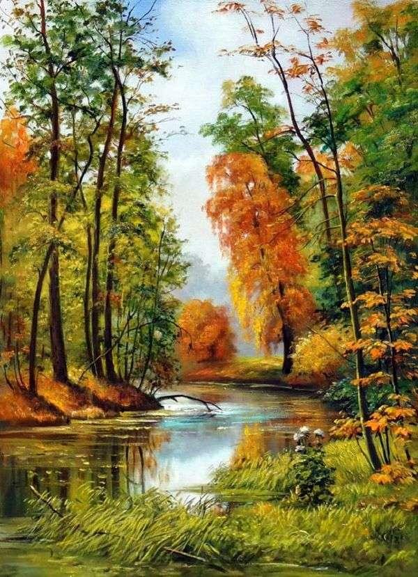 Осенний пейзаж   Иван Шишкин