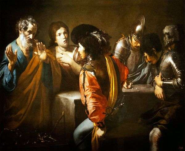 Отречение Святого Петра   Валантен де Булонь