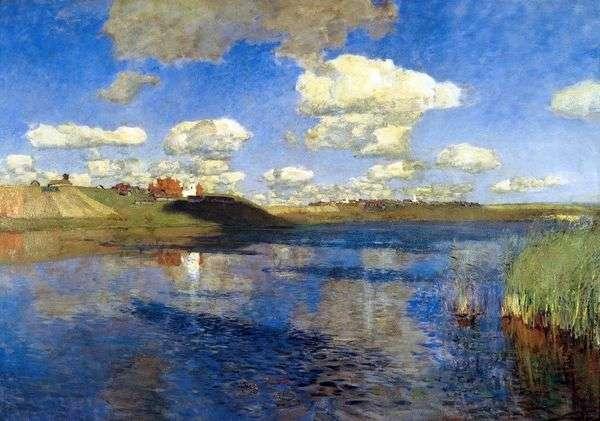 Озеро. Русь   Исаак Левитан