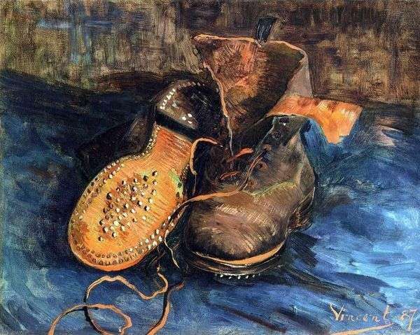 Пара обуви (Башмаки)   Винсент Ван Гог