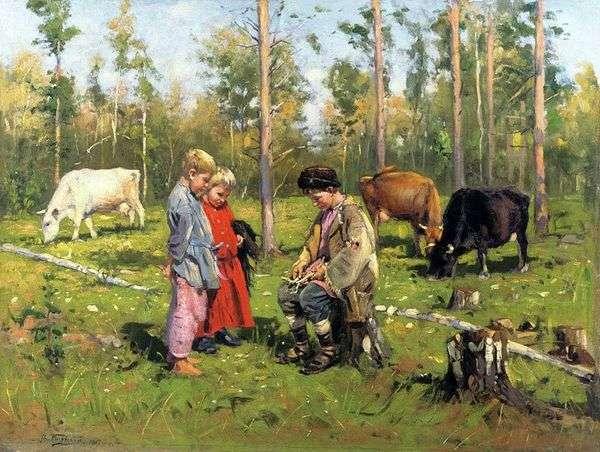 Пастушки   Владимир Маковский