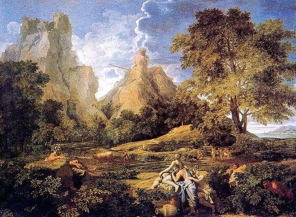 Пейзаж с Полифемом   Никола Пуссен&;amp;;nbsp