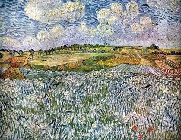 Пейзаж возле Овер: пшеничные поля   Винсент Ван Гог