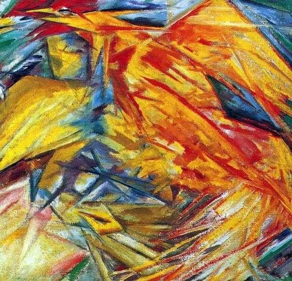 Петух и курица   Михаил Ларионов