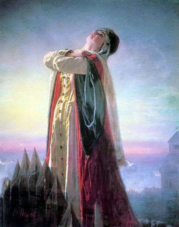 Плач Ярославны   Василий Перов