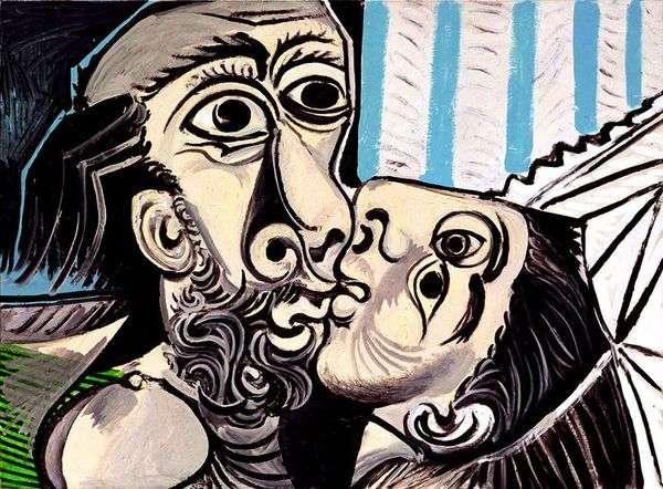 Поцелуй   Пабло Пикассо