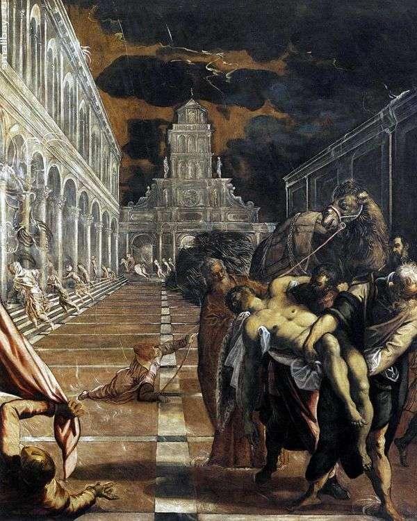 Похищение тела святого Марка   Якопо Тинторетто