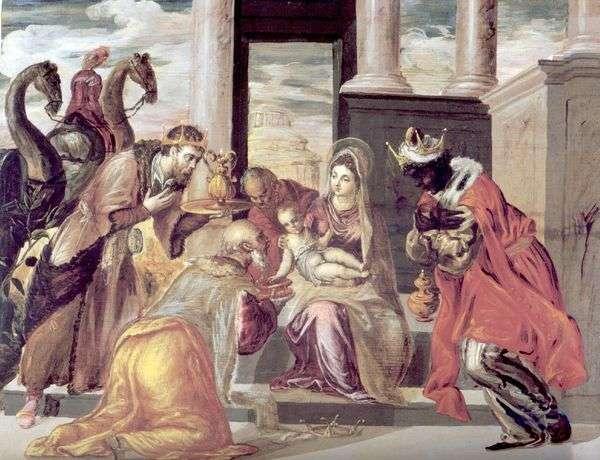 Поклонение волхвов   Эль Греко